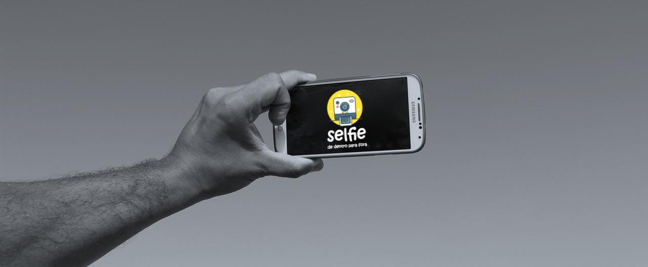 Selfie De Dentro para Fora